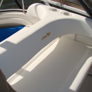 power & sail exterior upholstery